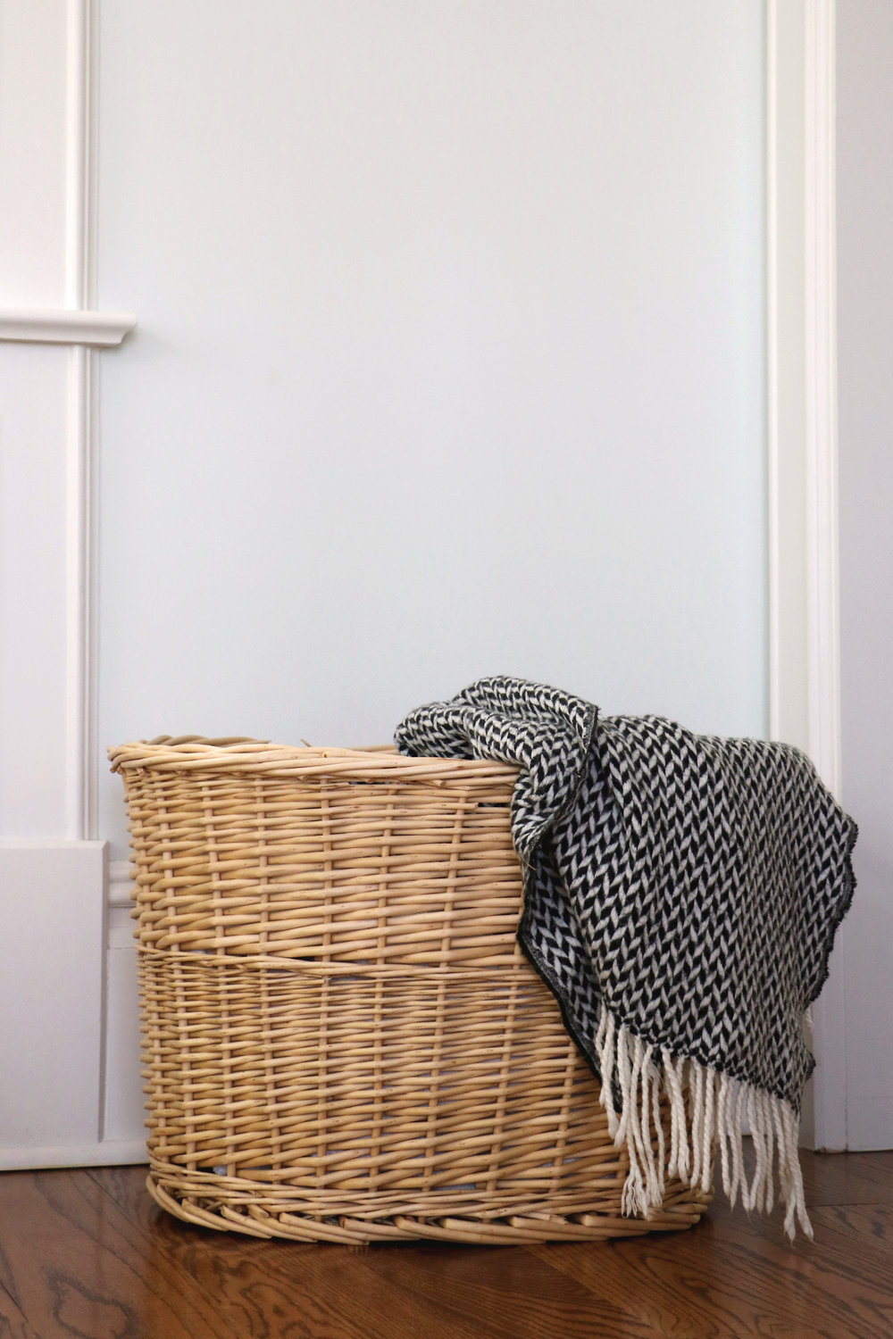 basket love: 4 ways to style them in the home | root + dwell