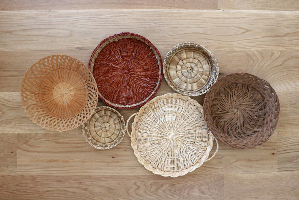 How to Create a Basket Wall Display | root + dwell