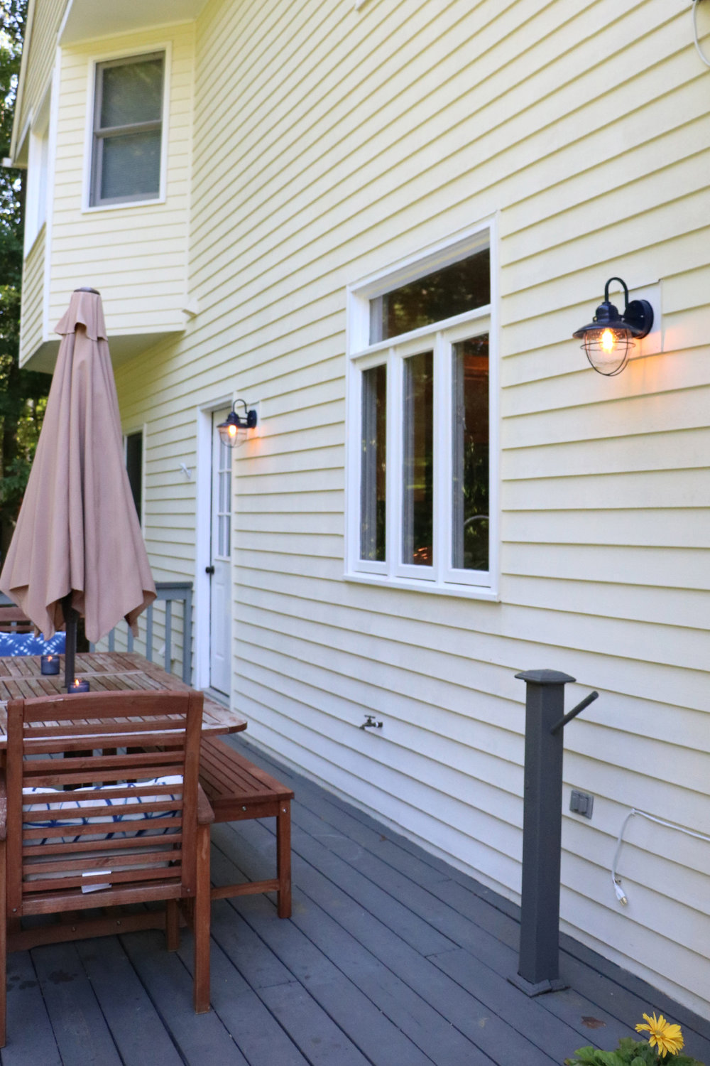 Our Outdoor Sconces + Creating What You Love Verses Settling | root + dwell