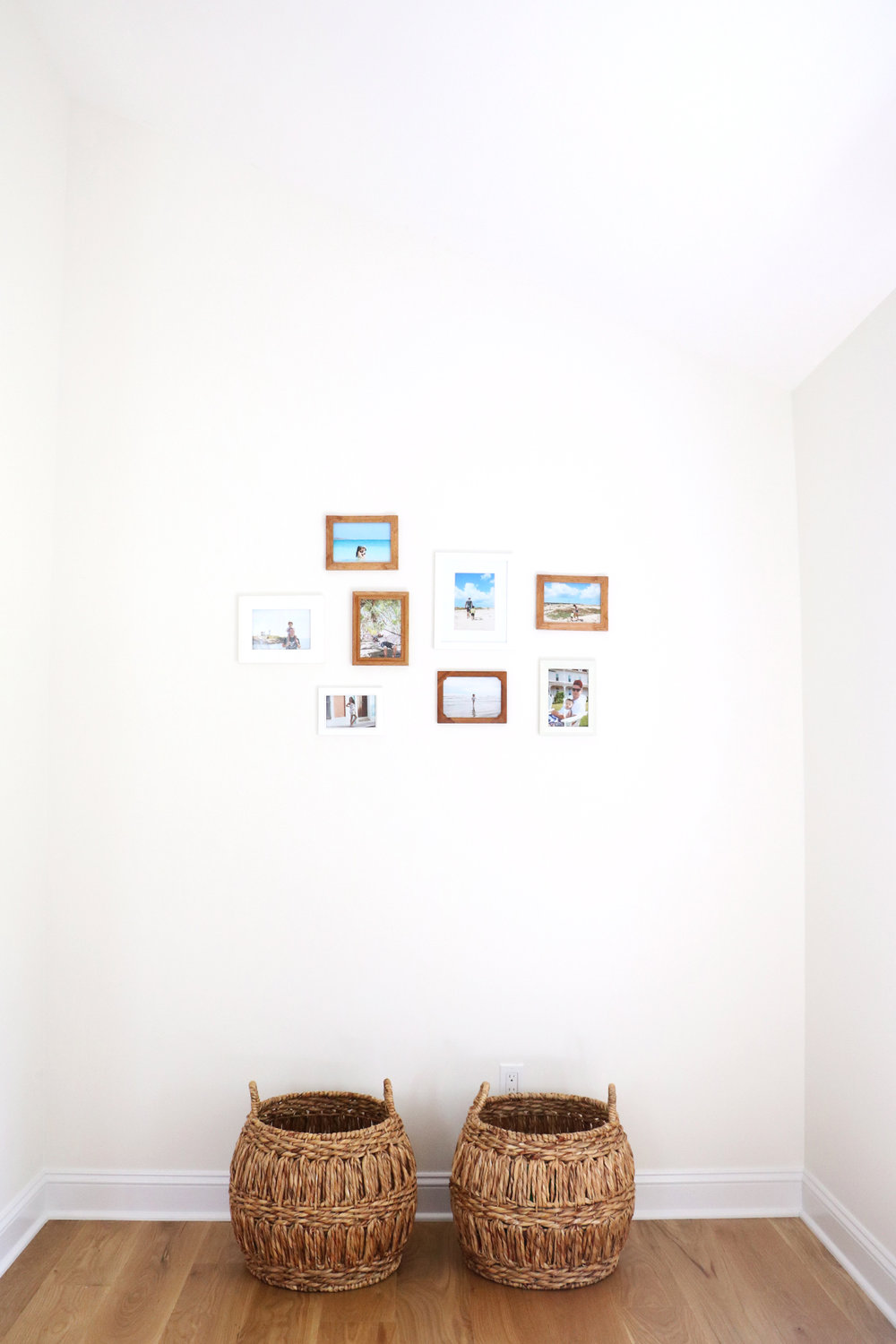 a themed family photo wall | root + dwell