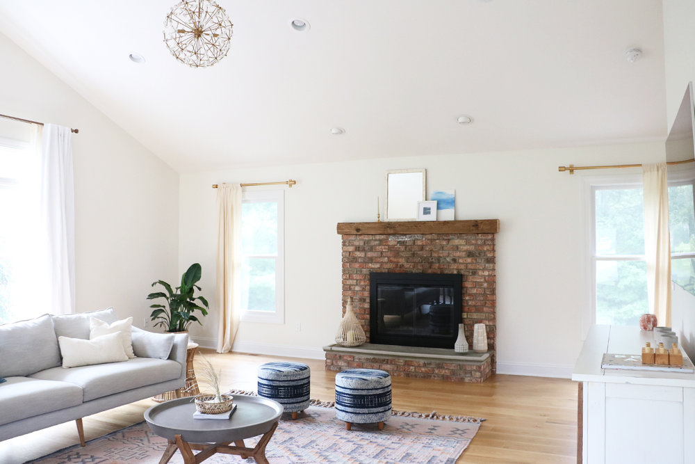 Our Family Room Makeover Reveal | Modern, Casual + Fun