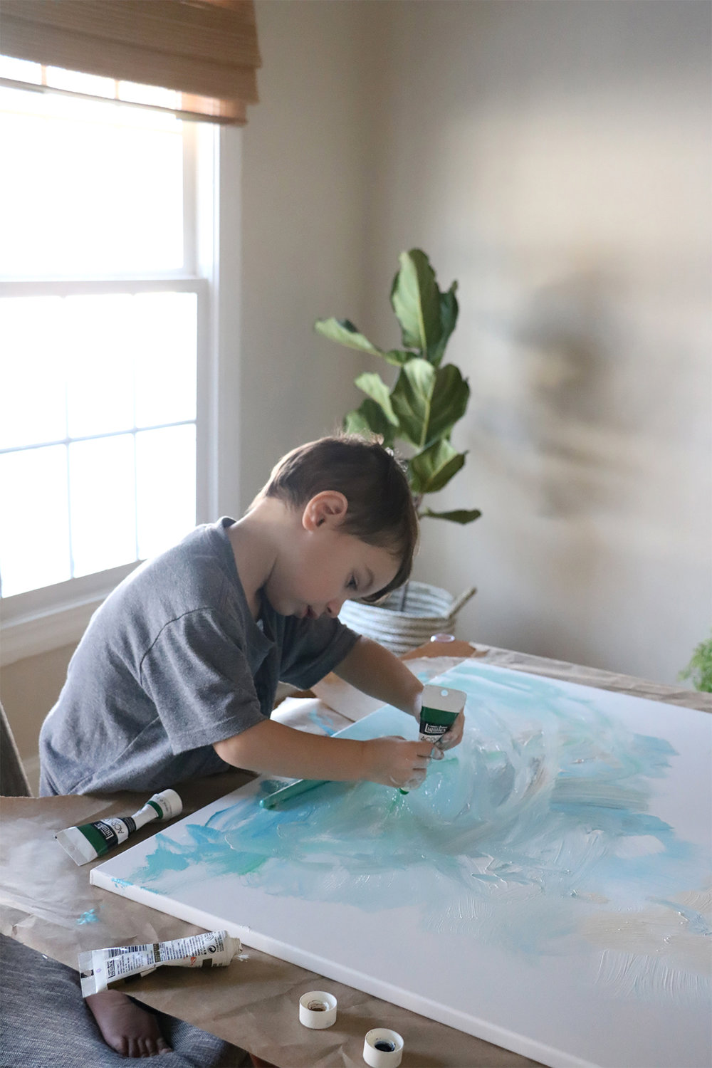 Family Art Project | root + dwell