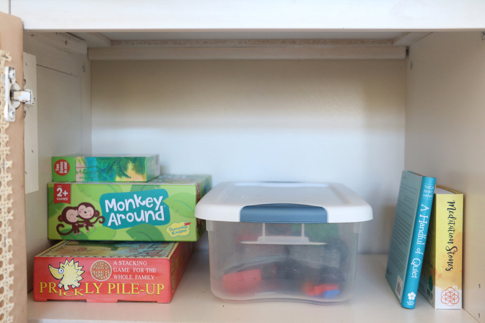 toy organization station | root + dwell