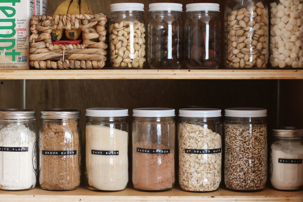 Waste Less: Buying + Storing  Food in Tare Weight Jars | root + dwell