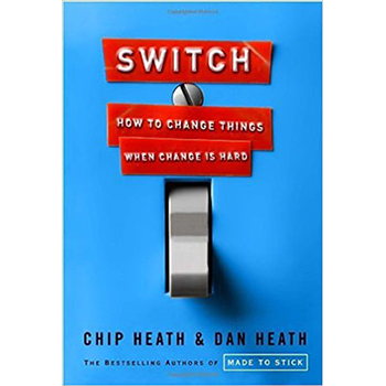 Chip and Dan Heath uncover the psychological reasons why it can be so hard for individuals, organizations, and communities to make lasting change, and how we can harness this knowledge to make our changes stick.   Learn more here