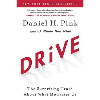 Drawn from over four decades of research, Daniel Pink identifies 3 elements of intrinsic motivation—autonomy, mastery, and purpose—and how we can harness them at work and in our personal lives.   Learn more here