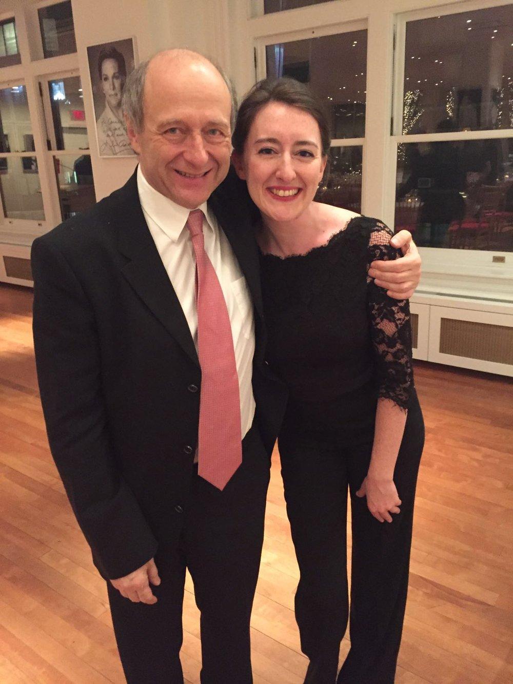 With Maestro Ivan Fischer