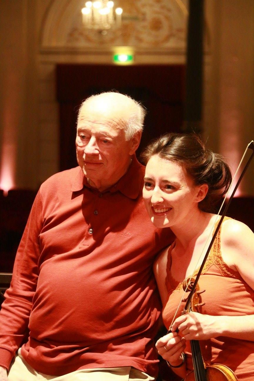 With Maestro Bernard Haitink