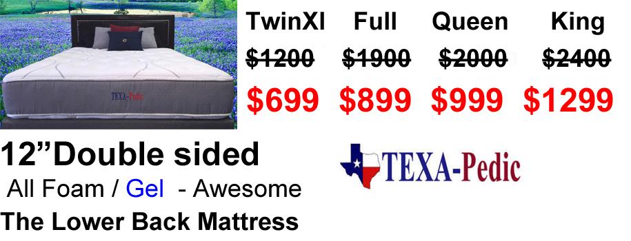 austin texapedic mattress