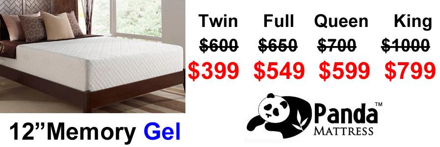 austin gel foam mattress 12 inch
