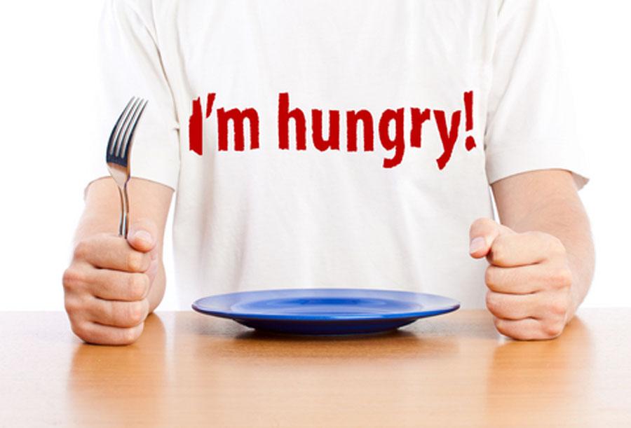 handla inte när du är hungrig