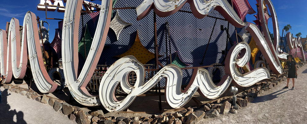 "The Moulin Rouge sign was designed by the only woman sign designer at the time - Betty Willis. She is also known for her famous ""Welcome to Las Vegas Sign"" on the South end of the strip."