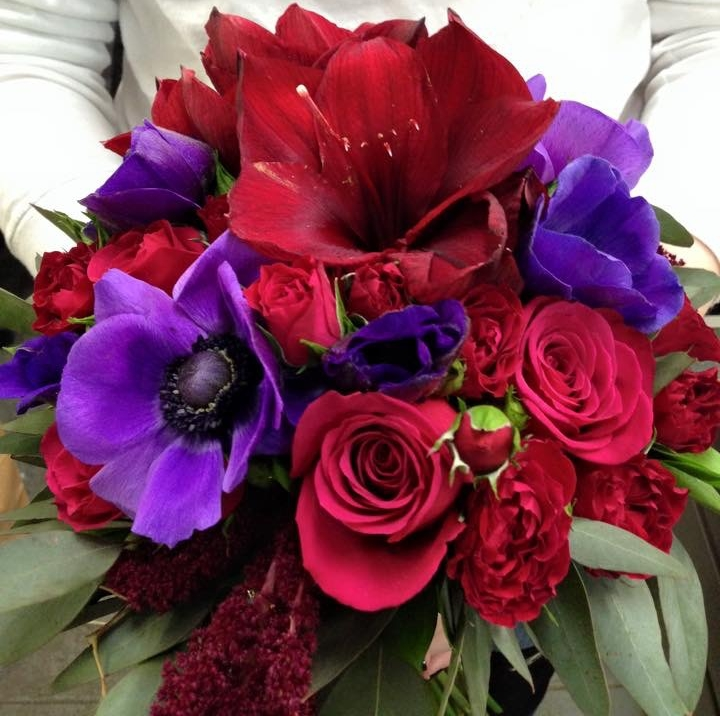 Deep Hues Bouquet