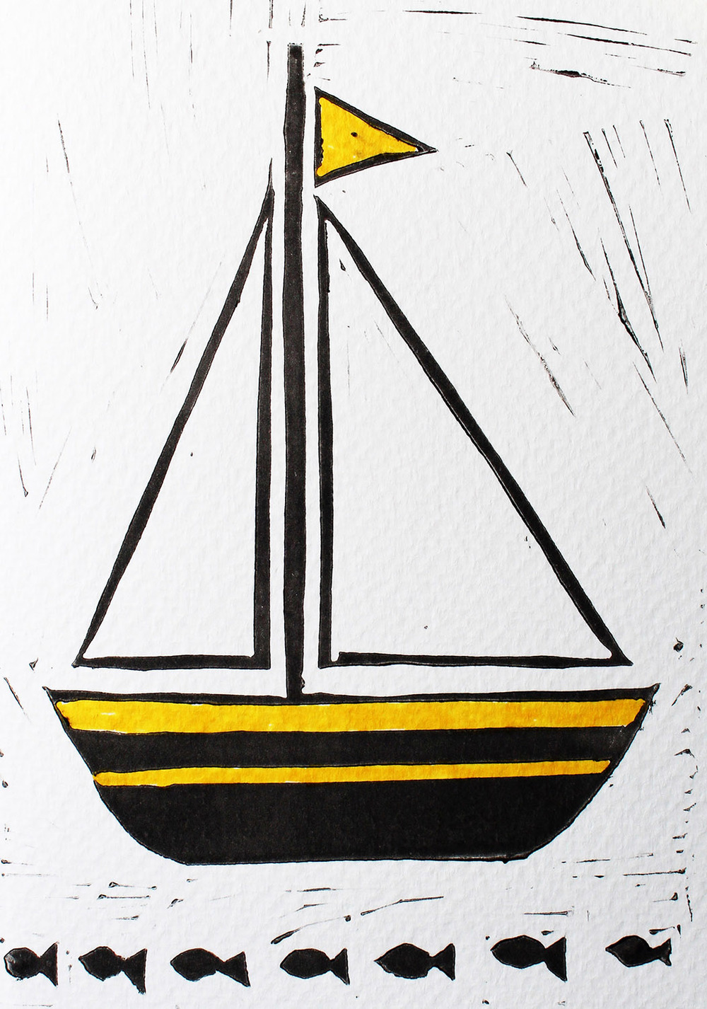Linocut Boat Colour Yellow.jpg