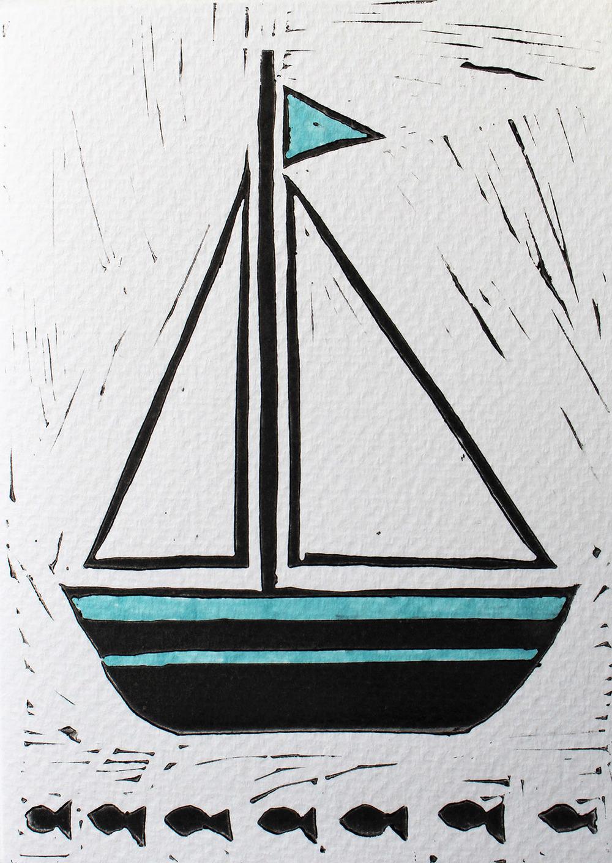 Linocut Boat Colour.jpg