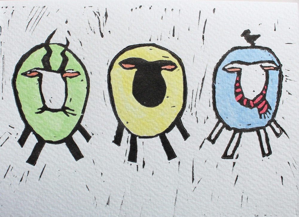 Linocut 2 Sheep.jpg