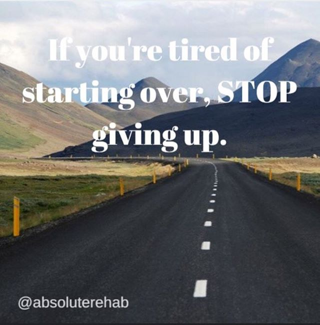 It's never too late for some #motivationmonday! 💪 Hope everyone has a great week!  #monday #physicaltherapynj #physicaltherapy #pt #pta #dpt #nevergiveup #nutley #absoluterehab