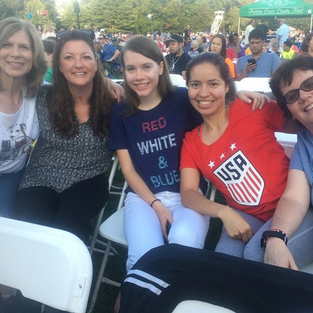 Absolute Rehab Team at this week's Brookdale Fireworks! We hope you all had a great 4th of July and have a safe summer 2017!! 🇺🇸🎉💛 NEW SUMMER HOURS: ~Monday & Wednesday  7:30am-8pm ~Thursday  8am-8pm ~Friday  7:30am-4:30pm  Call the office at 973-235-1111 😊  #physicaltherapynj #physicaltherapy #nutleynj #nutely #getpt1st #absoluterehab #nutleynj #pt #pta #dpt