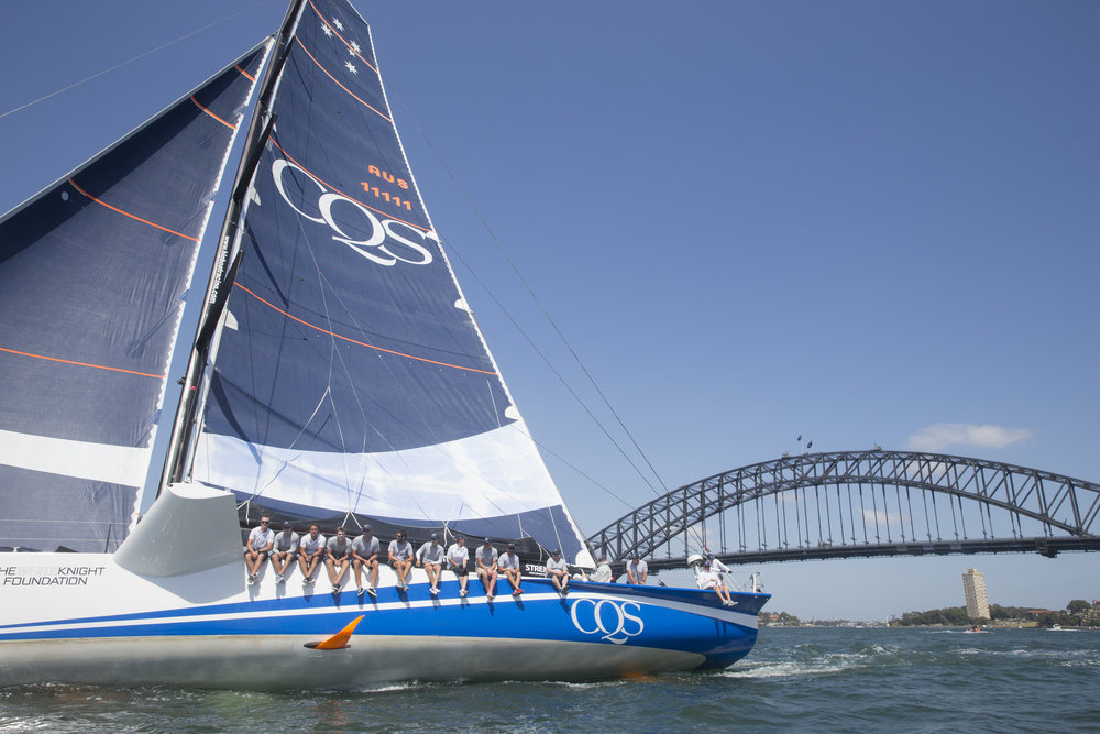 CQS training on Sydney Harbour