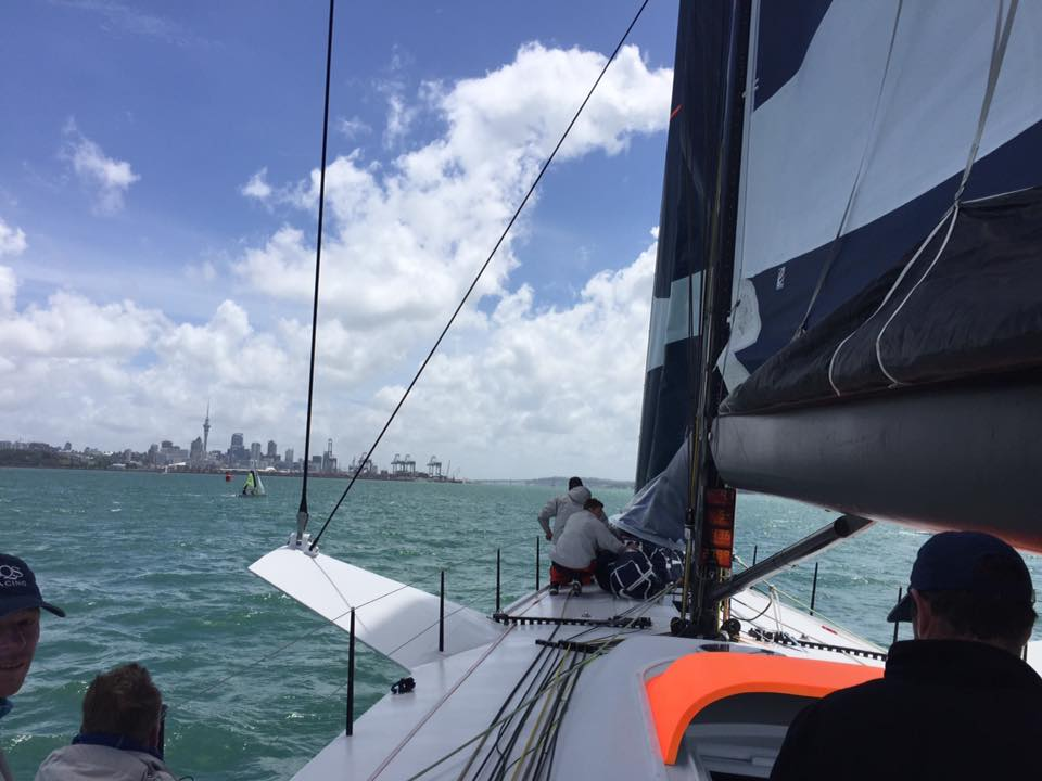 Royal Akarana Yacht Club White Island Race 2016