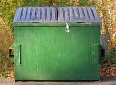 Green Dumpster Image