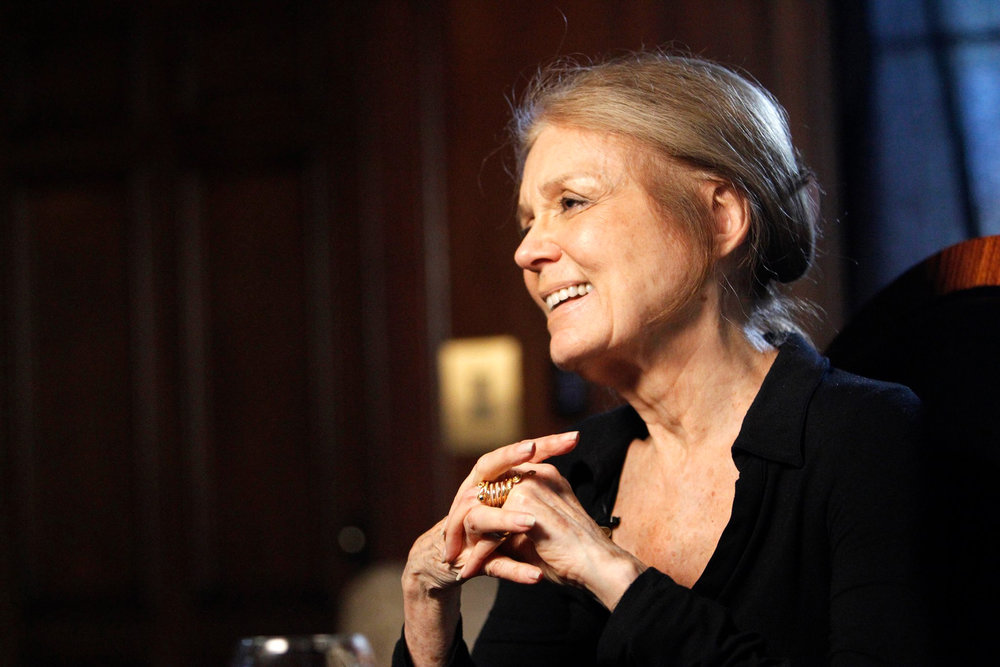 Gloria Steinem (Image provided)