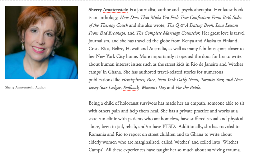 Sherry Amatenstein