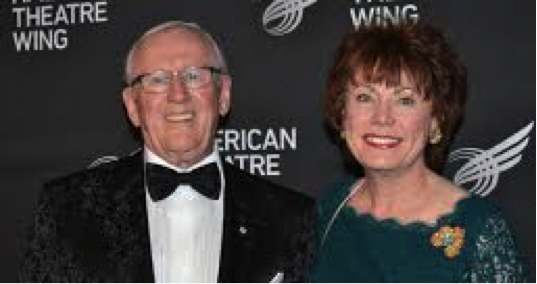 Left to Right: Len Cariou and Heather Summerhayes Cariou