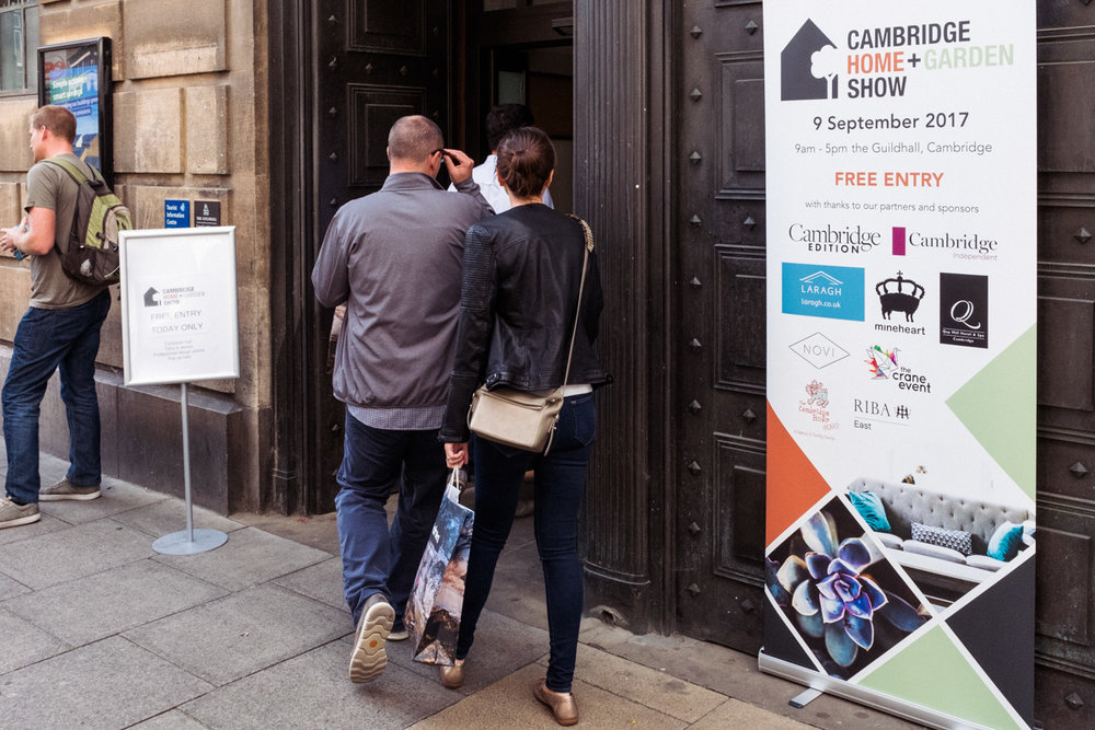 Cambridge Home + Garden Show: - Event consultancy