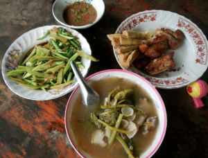 "Located front and center, ""Pha kha jaaw"" is the Thai equivalent to Sinigang sa sampalok."