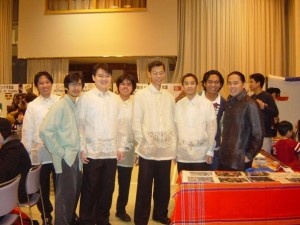 Involvement with the Hokkaido Association of Filipino Students.