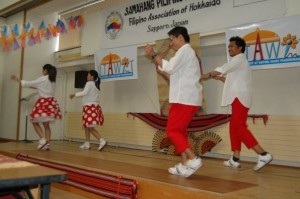 Philippine Independence Day celebrations hosted by Samahang Pilipino ng Hokkaido.