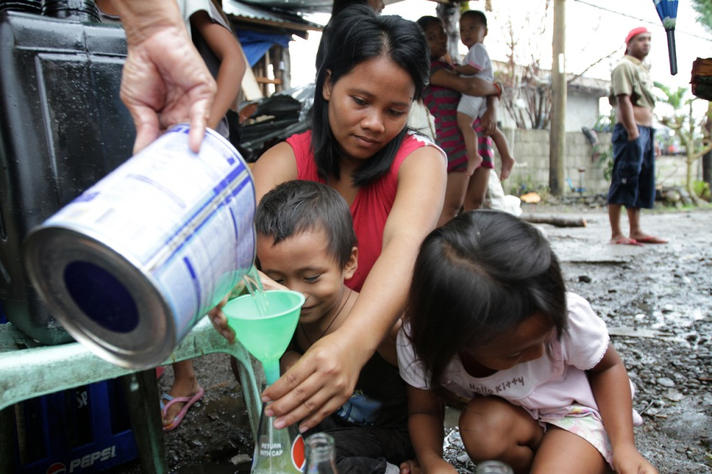 Concerns over water supply and sanitation continue to grow in communities affected by the Typhoon Yolanda.