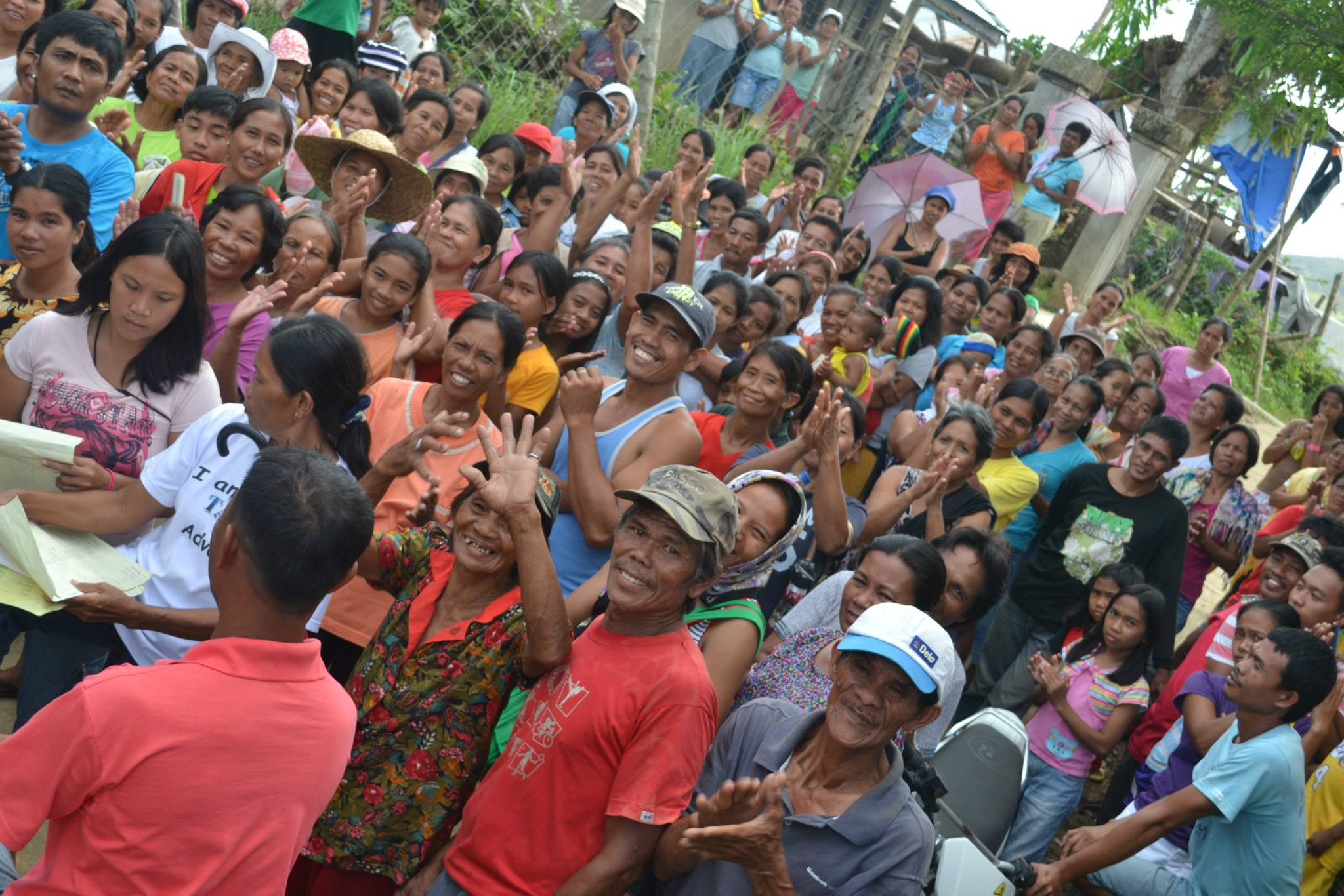 The trademark resilience of the Pilipino smile, courtesy of the residents of Barangay Bulak Sur, Batad, Iloilo province.