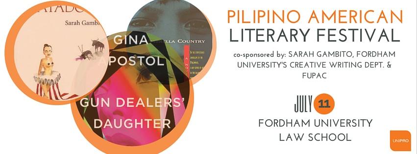 Pilipino American Literary Festival - A UniPro Kwentuhan Event