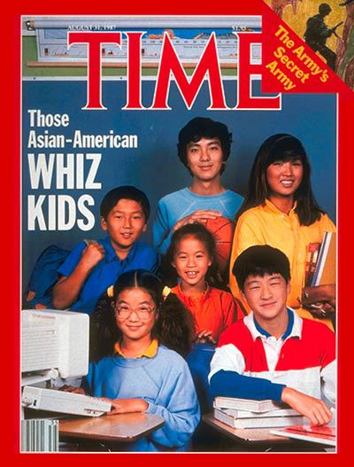 In the 1980s, TIME Magazine painted a racial stereotype known as the 'model minority.' | Source: TIME