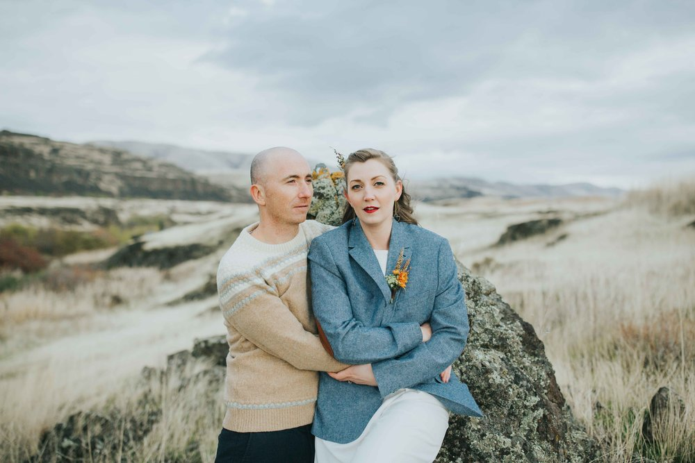 Washington Intimate Elopement Photographer Horsethief Butte-1.jpg