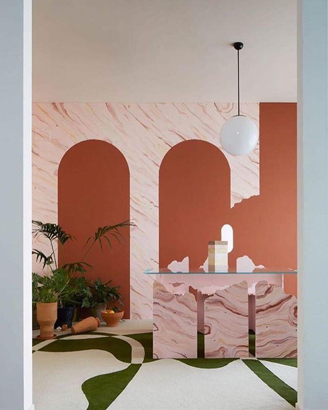 Terra - by @royalgarance for @strategicfootprints 📷@mattiaiotti ⠀⠀⠀⠀⠀⠀⠀⠀⠀ - #martinagamboni #royalgarance #terra #mdw18 #salonedelmobile #iSaloni #baronesso
