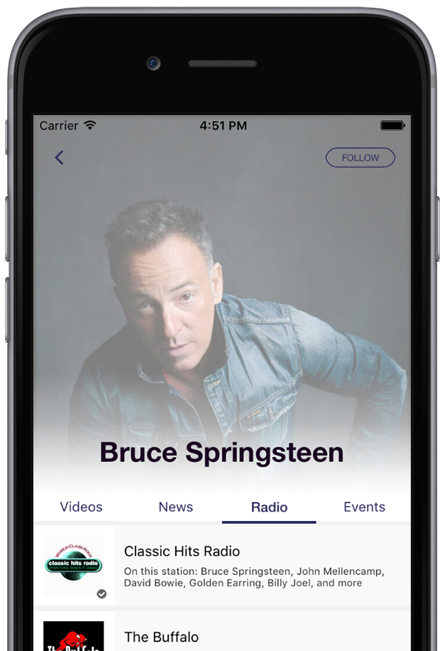 Personalized Radio Recommendations
