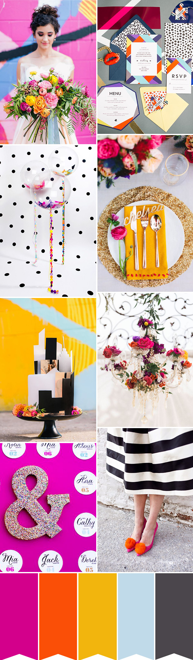 monochrome-and-color-pop-wedding-inspiration.jpg