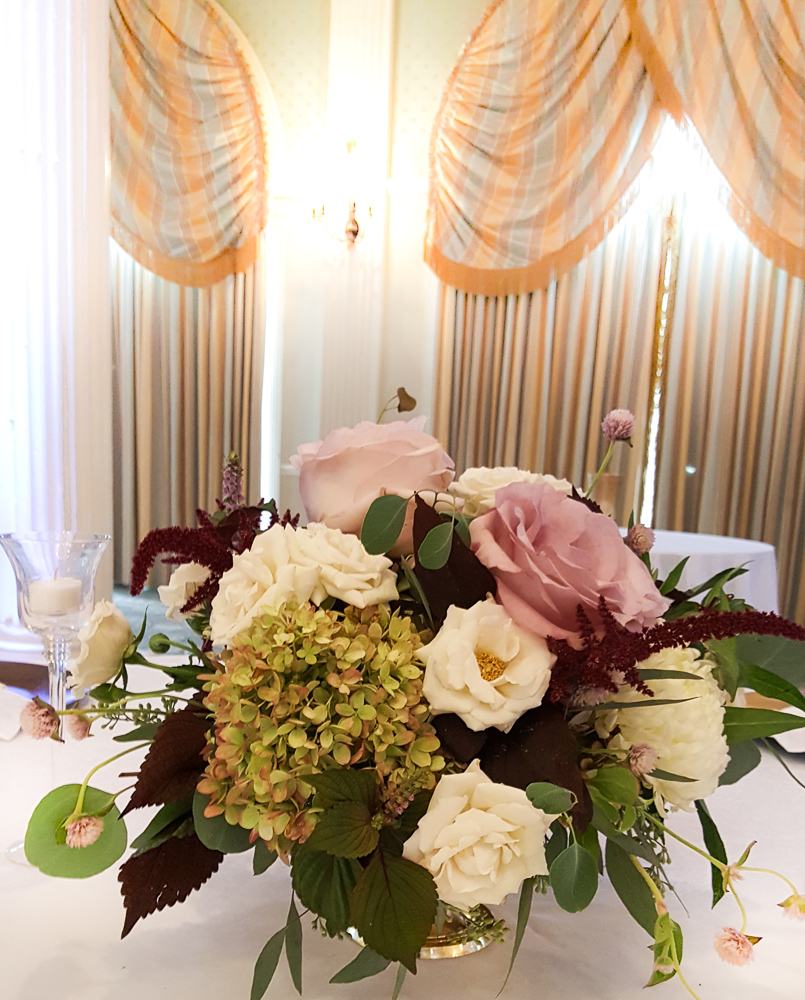 Centerpiece of Burgundy Blush and Cream.jpg
