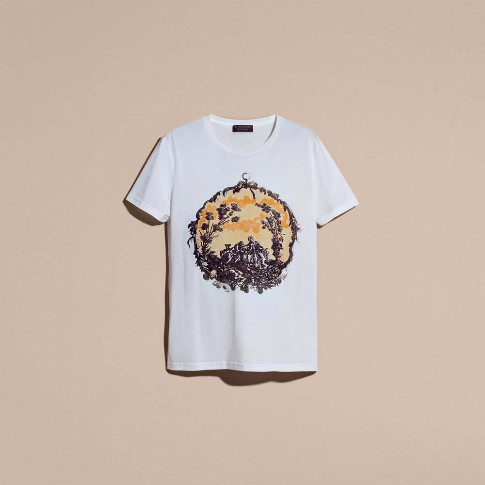 BURBERRY WALLPAPER PRINT COTTON T-SHIRT   $295.jpg