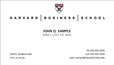 Business Cards Stationery And Graduation Announcements Hbs