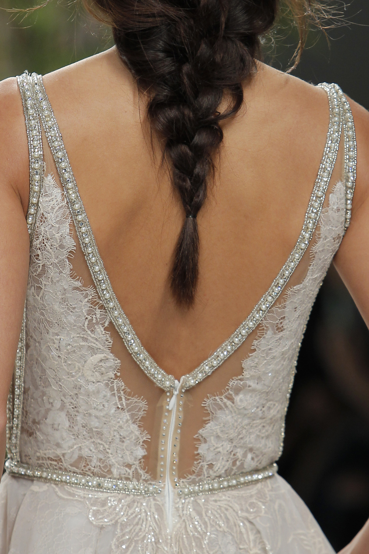 Statement back wedding gown Galia Lahav