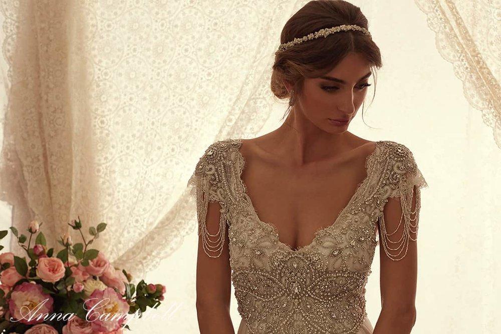 Anna Campbell Wedding Dresses: Vintage, Bohemian, Unique