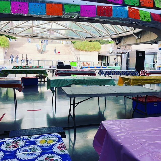 Calm before for the storm 🌵 We are so excited about tomorrow ✌️ See you on the lower level of the Plaza —- 11:30am to 8pm 🇲🇽 🎉 #marketmexicoyvr