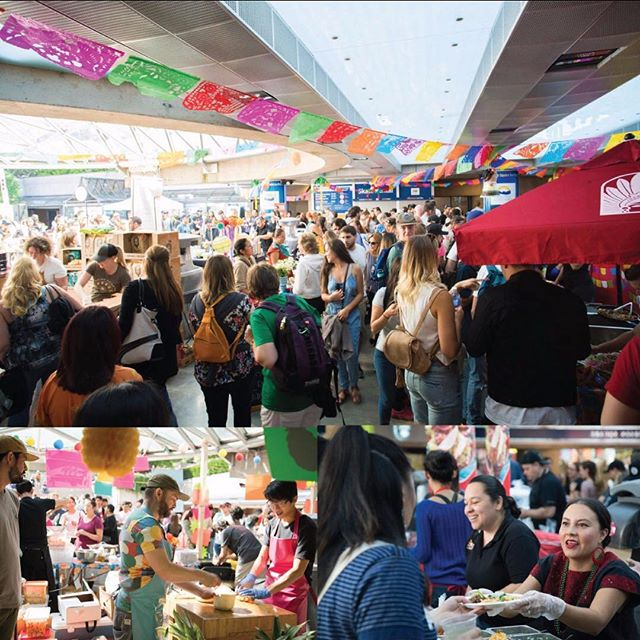 ☂ A reminder that today's event is under cover. ☂ And it's looking like it'll clear up early this afternoon. Come early to avoid the crowds! #marketmexicoyvr starts at 11:30.