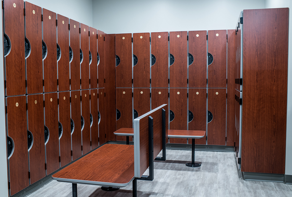 BRG Locker Facilities