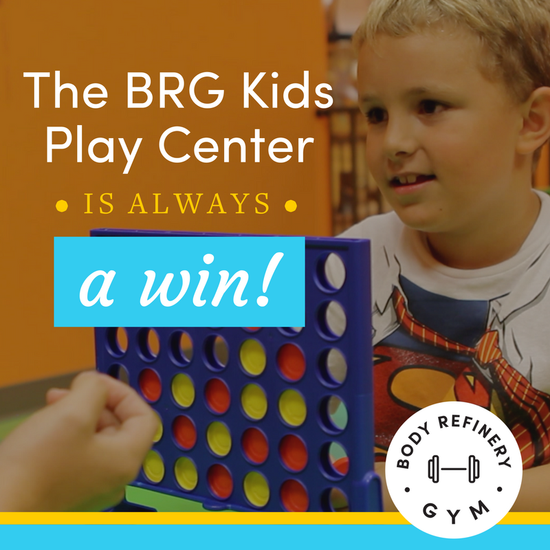 The BRG Kids Play Center Is Always A Win!