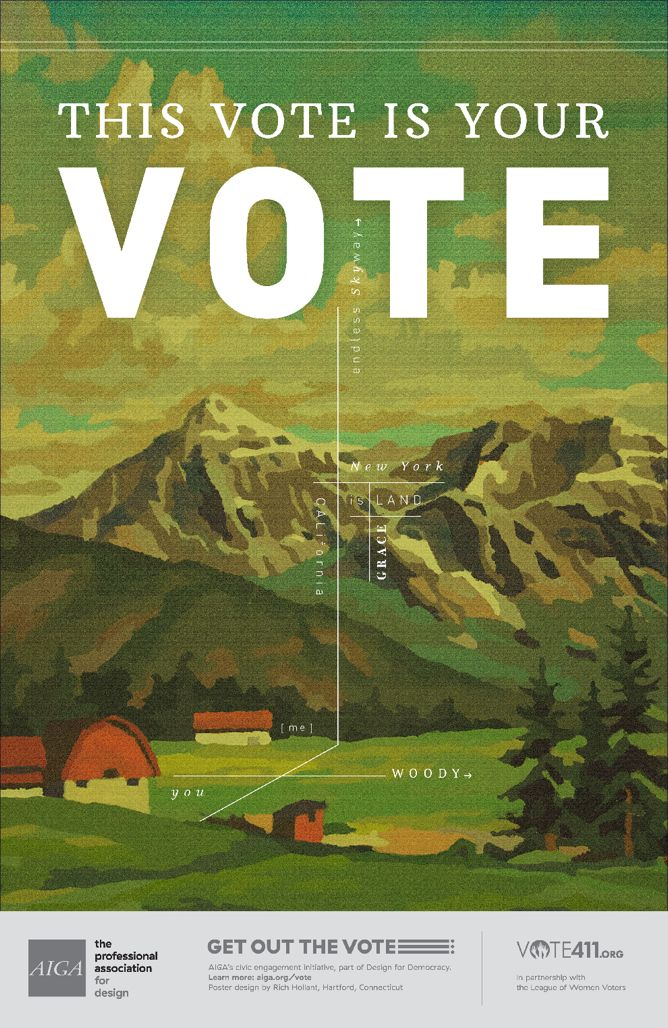 Vote Americana by Rich Hollant.